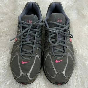 Nike Shoes - Nike Air Max Torch Grey Pink Running Sneakers